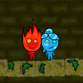 Fireboy and Watergirl 3 Forest Temple